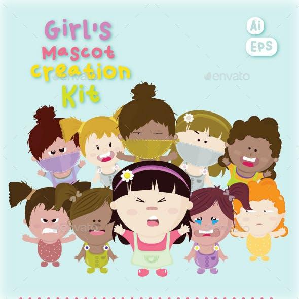 Girl's Mascot Creation Kit