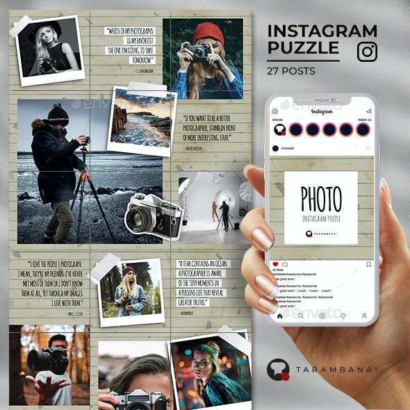 Photo - Instagram Puzzle Feed
