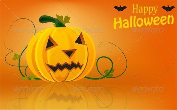 Vector halloween background - Monsters Characters