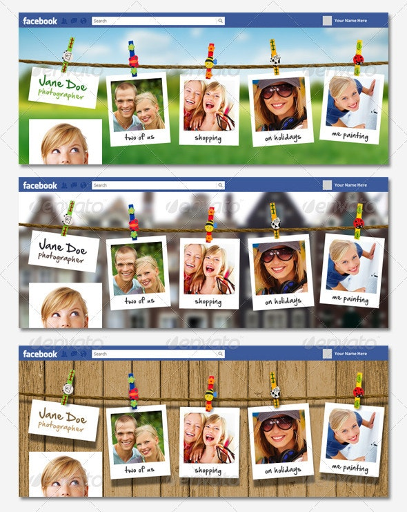 Vibrant FB Timeline Cover - Volume 2 - Facebook Timeline Covers Social Media