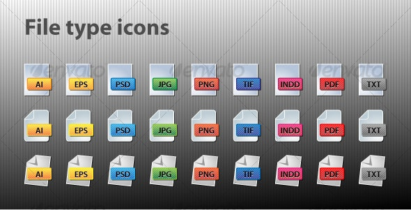 File type icons - Software Icons