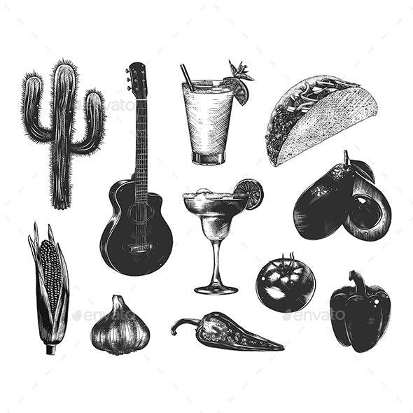 Mexico Sketches - Miscellaneous Conceptual