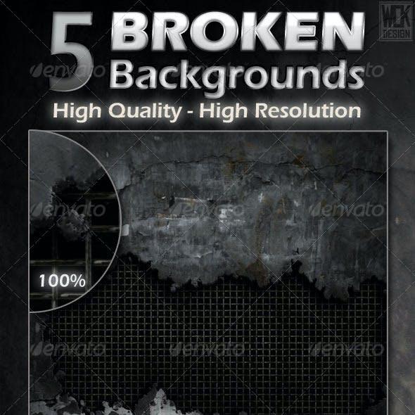 Broken Backgrounds