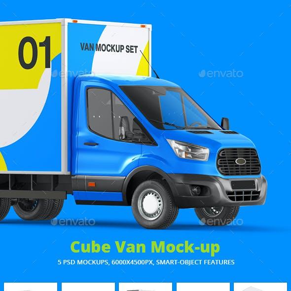 Cube Van Mock-up