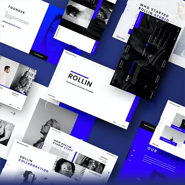 Rollin –  Business Google Slides Template