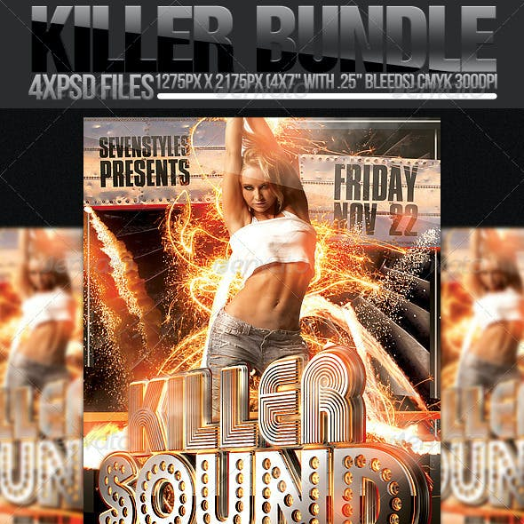 Killer Flyer Bundle