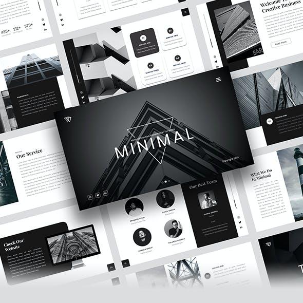 Minimal - Minimal Creative Powerpoint Template