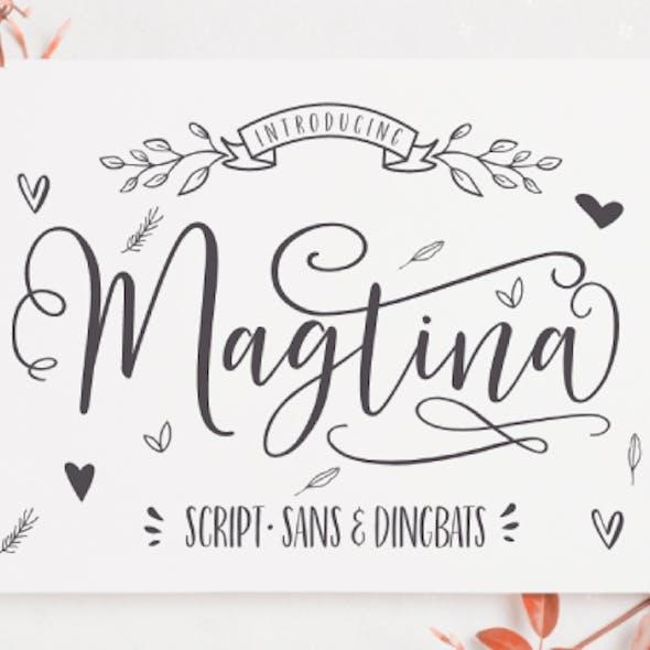 Magtina Script Duo with Xtras