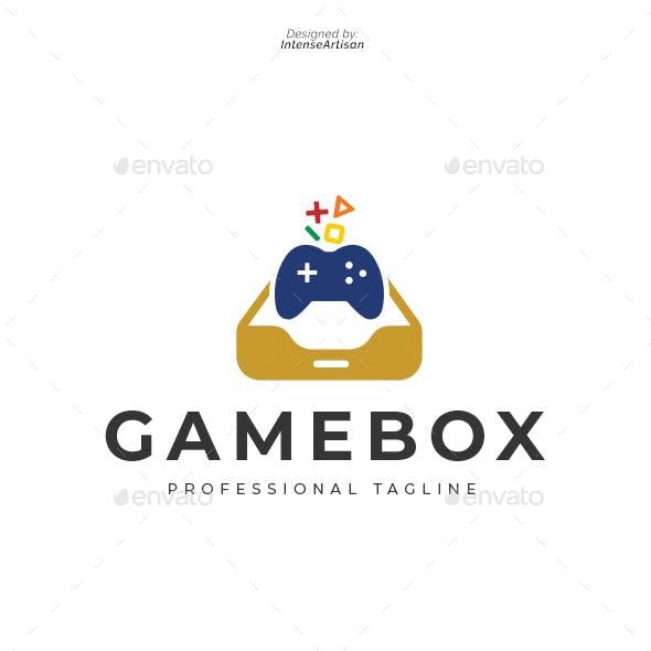 Game Box Logo Template