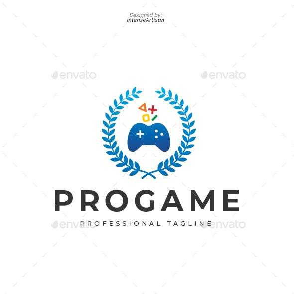 Pro Game Logo Template