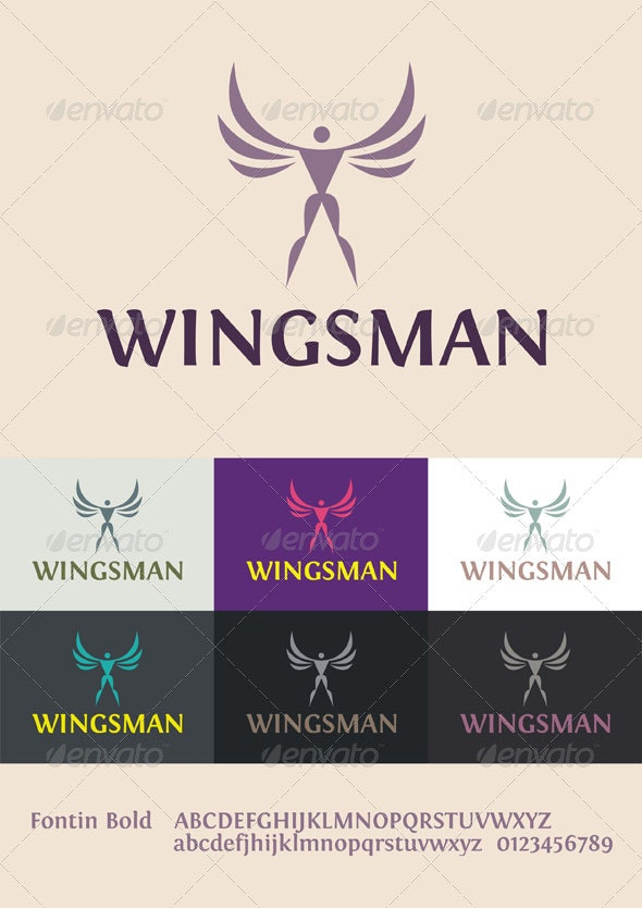 Wingsman Logo - Humans Logo Templates