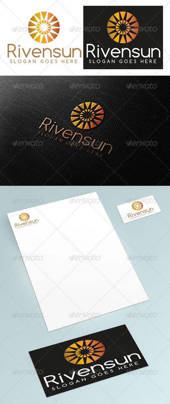 Rivensun Logo - Abstract Logo Templates