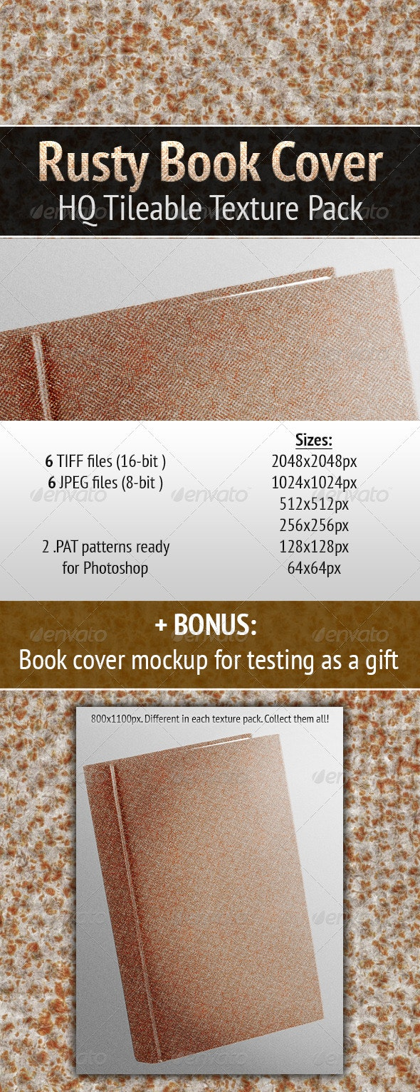 Rusty Book Cover - Miscellaneous Textures