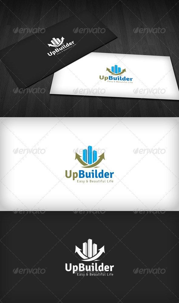 Up Builder Logo - Buildings Logo Templates