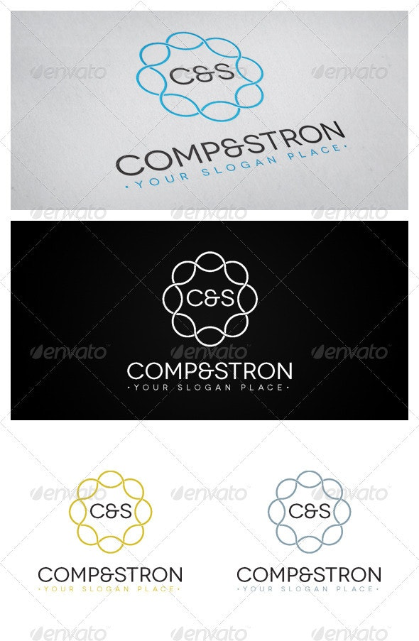 C&S - Letters Logo Templates