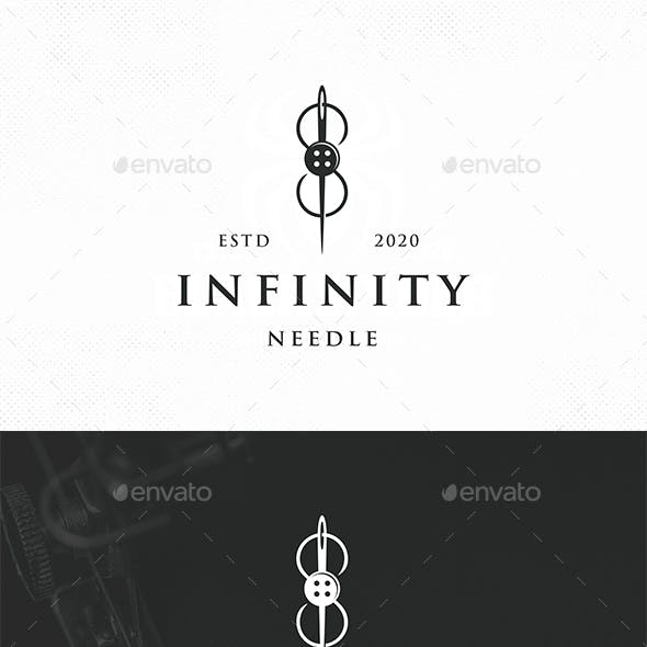 Infinity Needle Logo Template