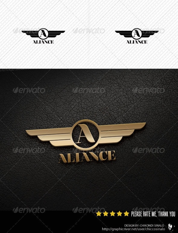Aliance Logo Template - Abstract Logo Templates