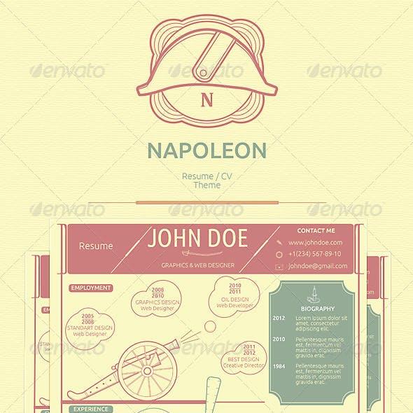 Napoleon Resume / CV Theme