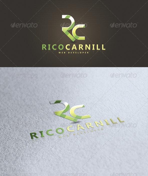 Rico Carnill Logo - Letters Logo Templates