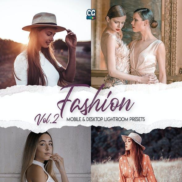 Fashion Lightroom Presets Vol. 2