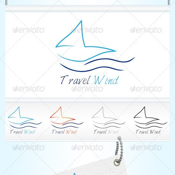 Travel Wind Logo