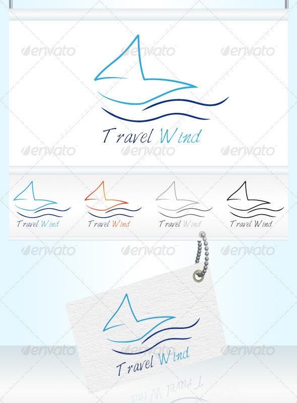 Travel Wind Logo - Objects Logo Templates