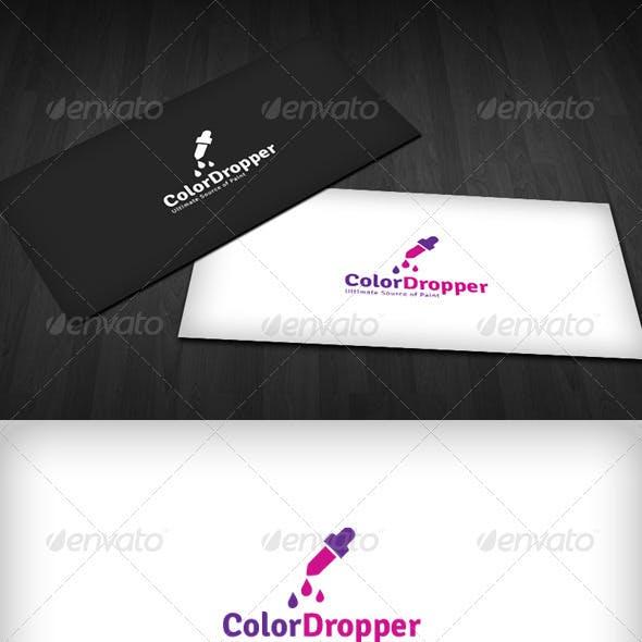 Color Dropper Logo