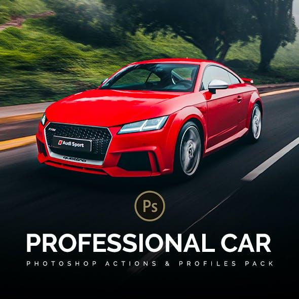 60 Professsional Car Photoshop Actions & Profiles