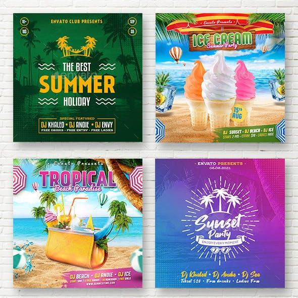 Summer - Social Media Banners