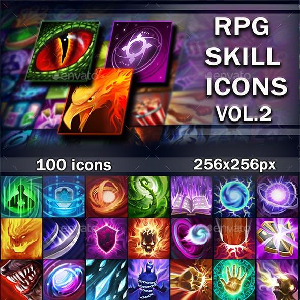 Skill Icons Vol. 2