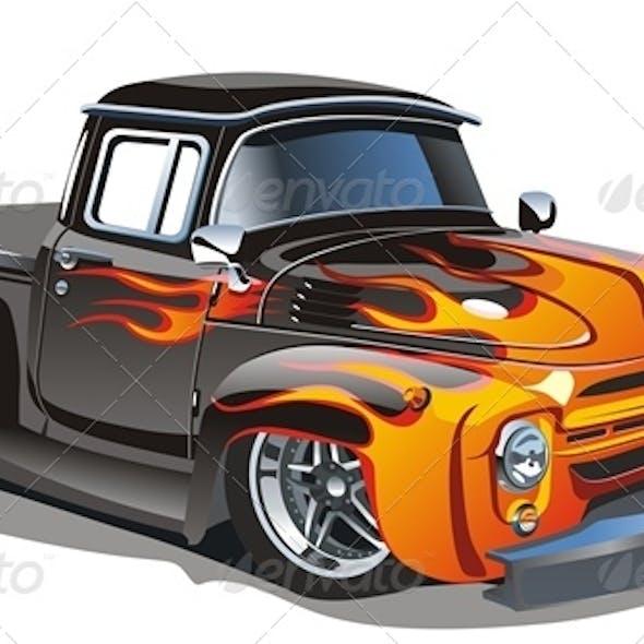 Cartoon Hotrod