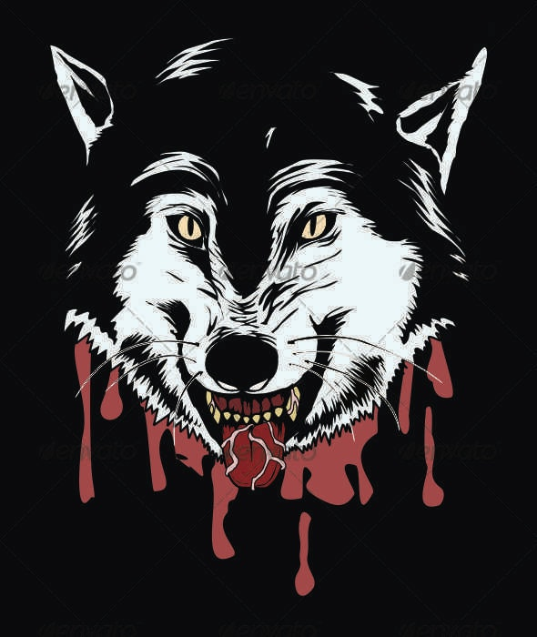 Bloody Wolf - Animals Characters