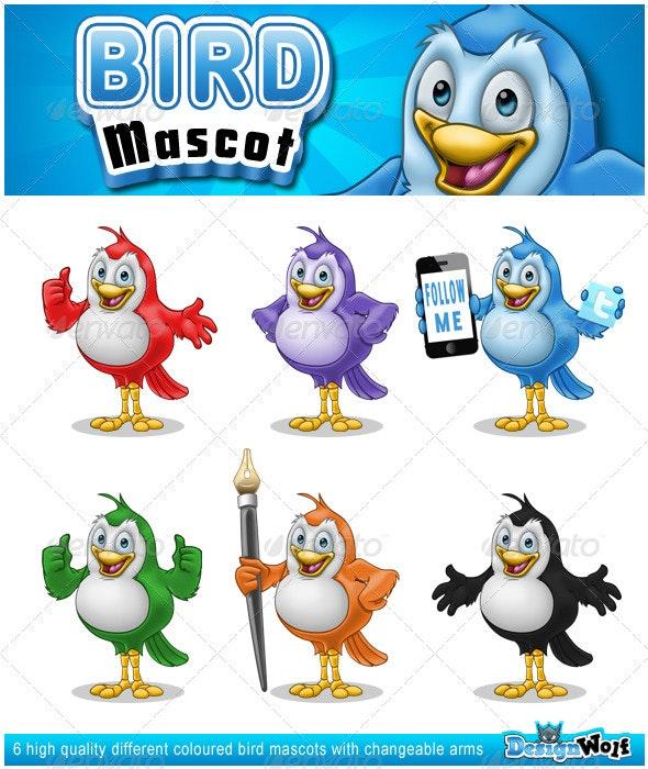Bird Mascot - Characters Illustrations