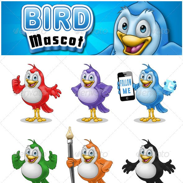 Bird Mascot