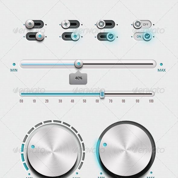 Metalica Pro Ui Kit For Retina Display