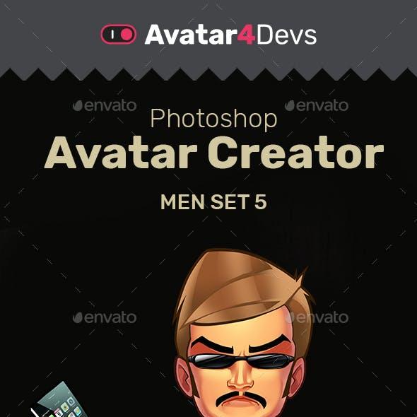 Avatar Creator Man Set 5