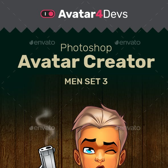 Avatar Creator Man Set 3