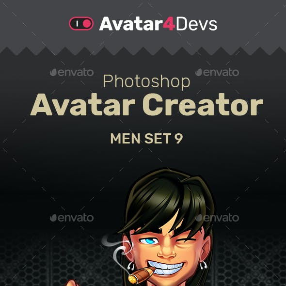 Avatar Creator Man Set 9
