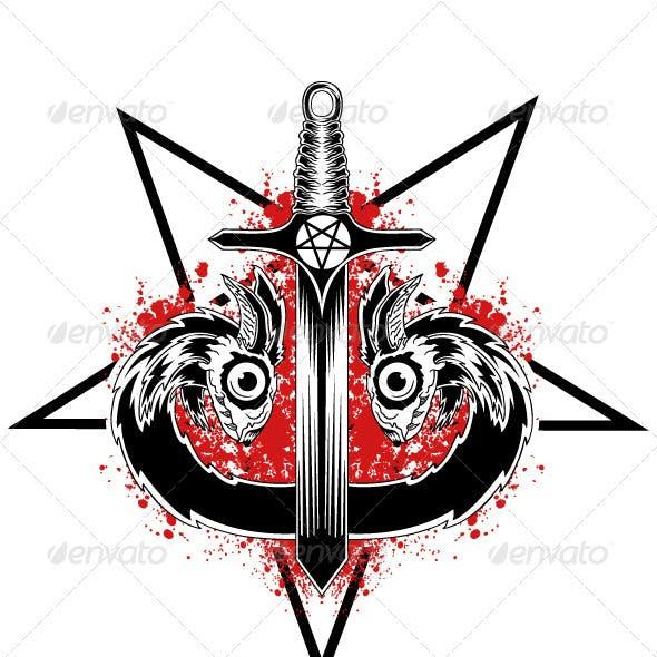 Evil Serpent Sword