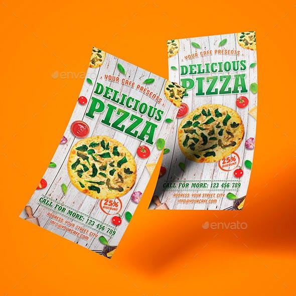 Pizza Rack Card