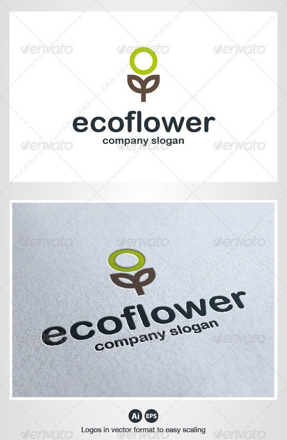 Eco Flower Logo - Nature Logo Templates