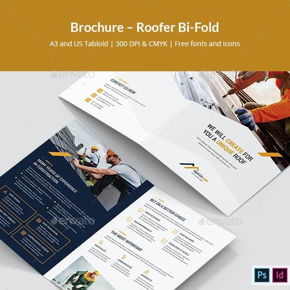 Brochure – Roofer Bi-Fold