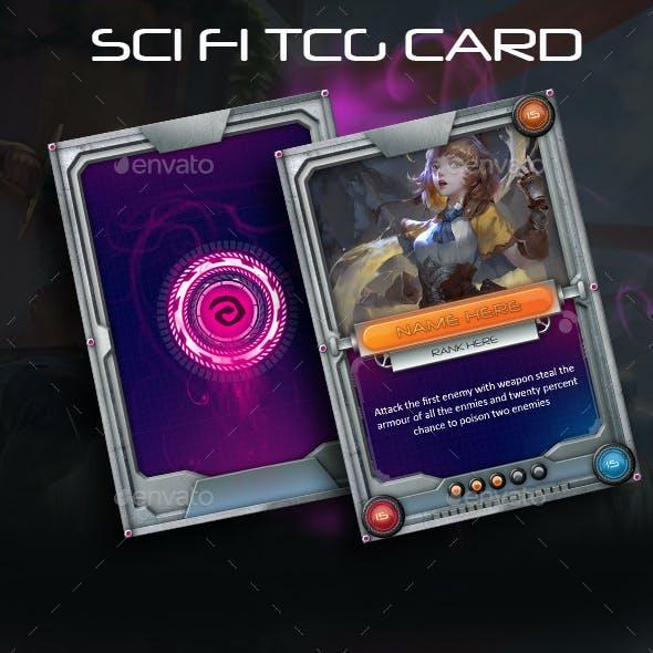 Sci-Fi TCG Card Template