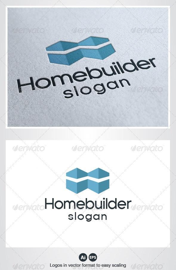 Home Builder Logo - Buildings Logo Templates