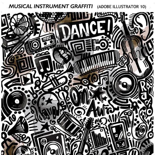 Musical Instrument Graffiti