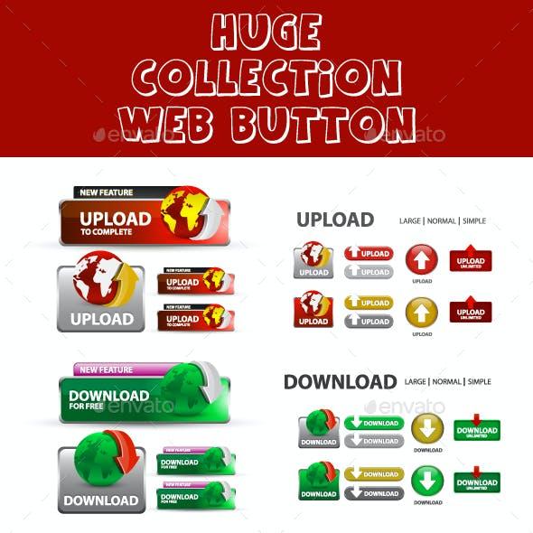 Creative Web Button set