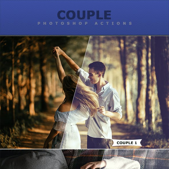 Couple Photoshop Actions