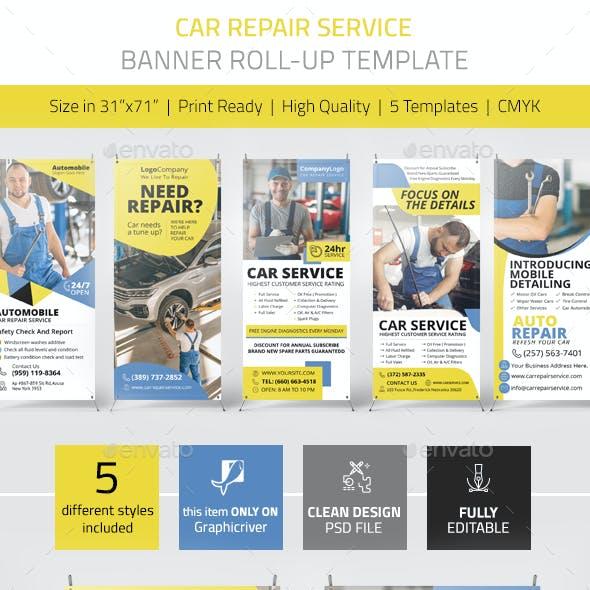 Car Repair Service Banner Vol.1