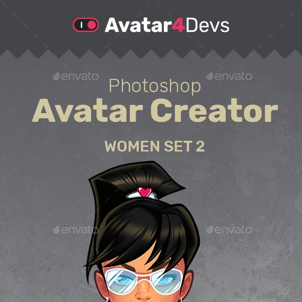 Avatar Creator Woman Sexy Set 2