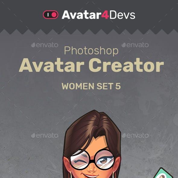 Avatar Creator Woman Set 5